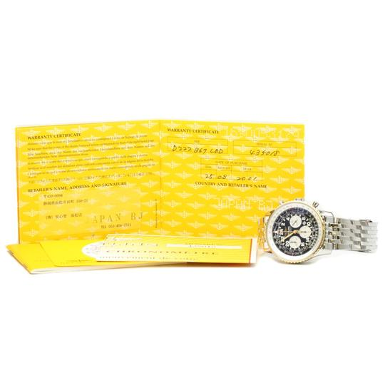 Breitling Breitling Navitimer Automatic Stainless Steel,Yellow Gold (18K) Men's Sports Watch D22322 Image 5