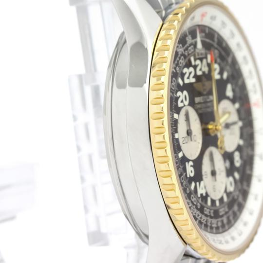 Breitling Breitling Navitimer Automatic Stainless Steel,Yellow Gold (18K) Men's Sports Watch D22322 Image 8