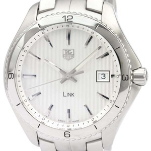 Tag Heuer Tag Heuer Link Quartz Stainless Steel Men's Sports Watch WAT1111