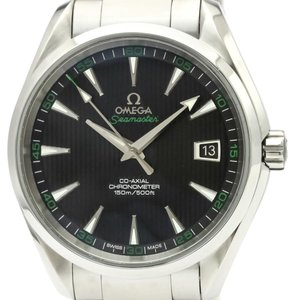 Omega Omega Seamaster Automatic Stainless Steel Men's Sports Watch 231.10.42.21.01.001