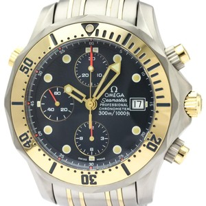 Omega Omega Seamaster Automatic Titanium,Yellow Gold (18K) Men's Sports Watch 2398.80