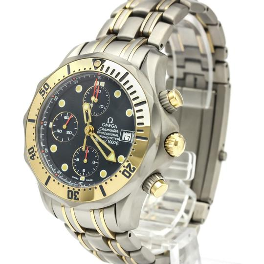 Omega Omega Seamaster Automatic Titanium,Yellow Gold (18K) Men's Sports Watch 2398.80 Image 1