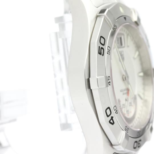 Tag Heuer Tag Heuer Aquaracer Quartz Stainless Steel Men's Sports Watch WAF1011 Image 7