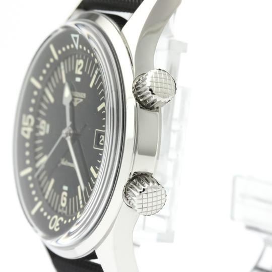 Longines Longines Legend Diver Automatic Stainless Steel Men's Sports Watch L3.674.4 Image 3