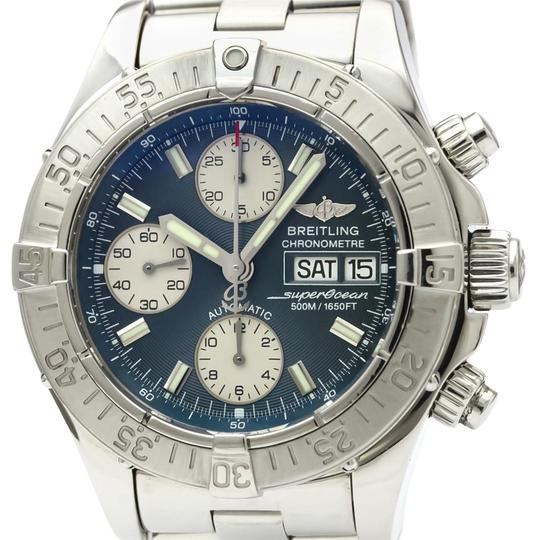 Breitling BREITLING Chrono Super Ocean Steel Automatic Mens Watch A13340 Image 0