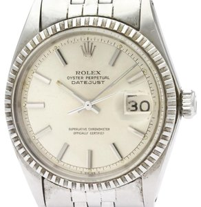 Rolex ROLEX Datejust 1603 Stainless Steel Automatic Mens Watch