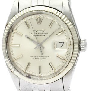 Rolex Rolex Datejust Automatic Stainless Steel,White Gold Men's Dress Watch 1601
