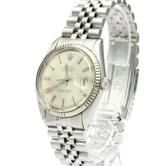Rolex Rolex Datejust Automatic Stainless Steel,White Gold Men's Dress Watch 1601 Image 1