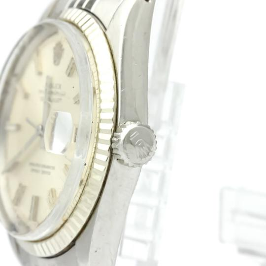 Rolex Rolex Datejust Automatic Stainless Steel,White Gold Men's Dress Watch 1601 Image 3