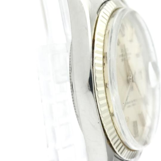 Rolex Rolex Datejust Automatic Stainless Steel,White Gold Men's Dress Watch 1601 Image 7