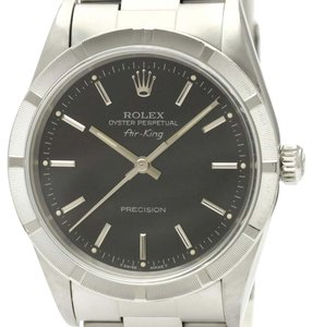 Rolex Rolex Airking Automatic Stainless Steel Men's Dress Watch 14010