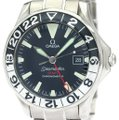 Omega OMEGA Seamaster GMT Gerry Lopes Steel Automatic Watch 2536.50 Image 0