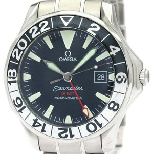 Omega OMEGA Seamaster GMT Gerry Lopes Steel Automatic Watch 2536.50