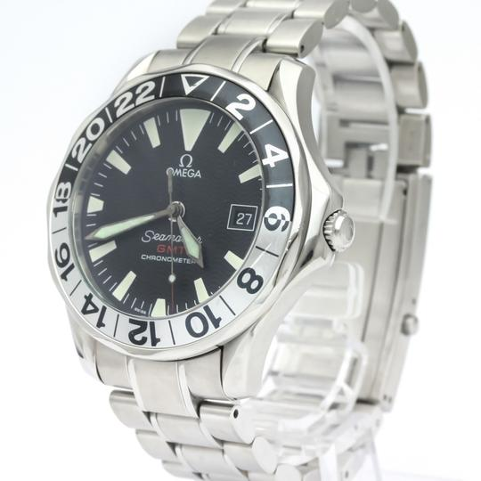 Omega OMEGA Seamaster GMT Gerry Lopes Steel Automatic Watch 2536.50 Image 1