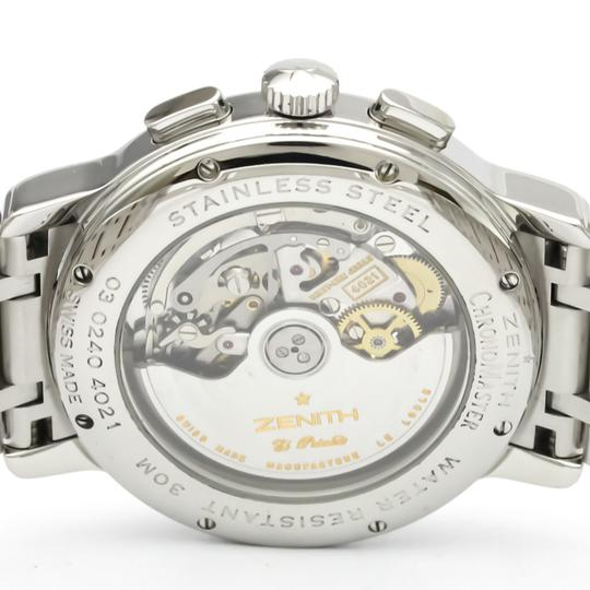 Zenith Zenith Chronomaster Automatic Stainless Steel Men's Sports Watch 03.0240.4021 Image 5