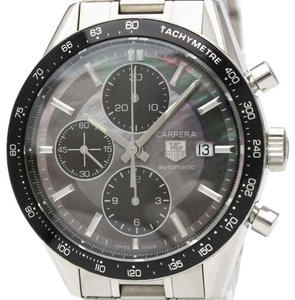 Tag Heuer Tag Heuer Carrera Automatic Stainless Steel Men's Sports Watch CV201K