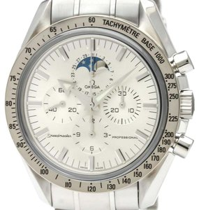 Omega Omega Speedmaster Automatic Stainless Steel,White Gold (18K) Men's Sports Watch 3575.30