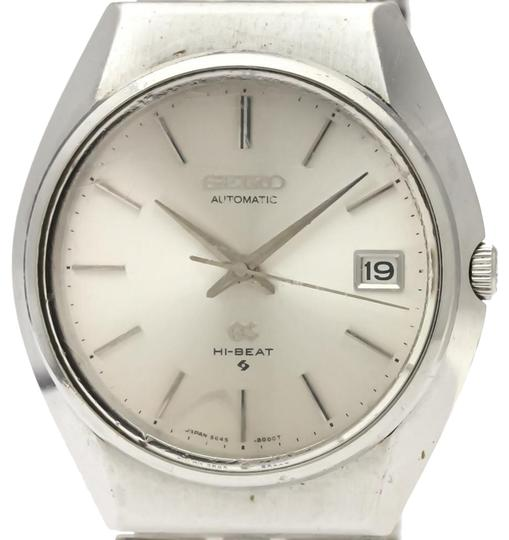 Seiko Seiko Grand Seiko Automatic Stainless Steel Men's Dress Watch 5645-8000 Image 0