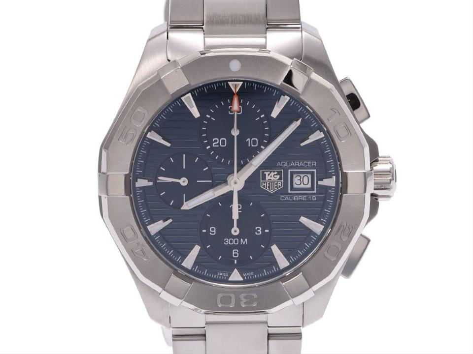 competitive price 5bc0b 8d083 TAG Heuer Aquaracer Calibre 16 Chronograph Stainless Steel Mens Cay2112  Watch