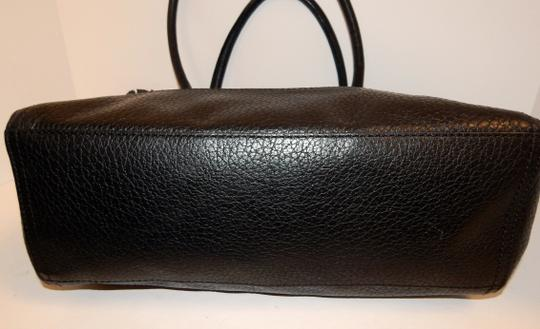 Kate Spade East West Pebbled Leather Tote in Black Image 10