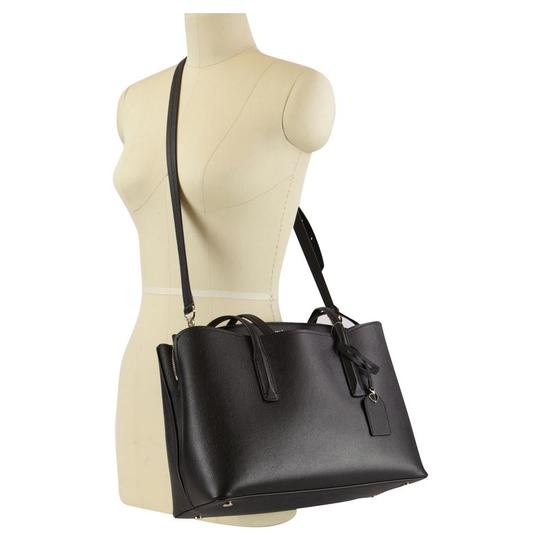 Kate Spade Margaux Leather Tote in Black Image 1