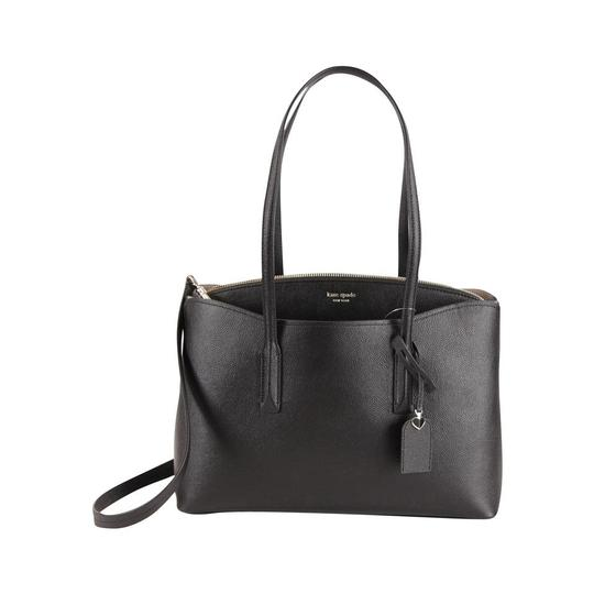 Kate Spade Margaux Leather Tote in Black Image 2
