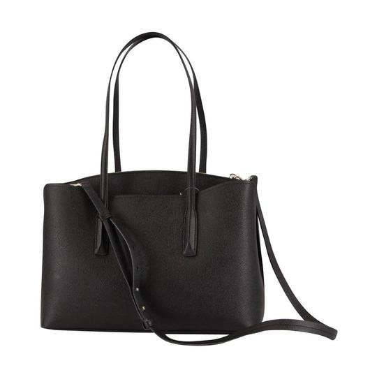 Kate Spade Margaux Leather Tote in Black Image 5
