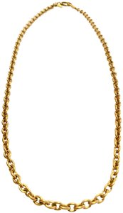 Chanel Chanel Chain Necklace - Gold Tone Metal w/ Clasp