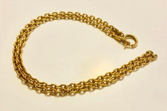 Chanel Chanel Chain Necklace - Gold Tone Metal w/ Clasp Image 1