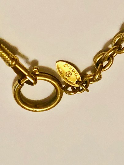 Chanel Chanel Chain Necklace - Gold Tone Metal w/ Clasp Image 4