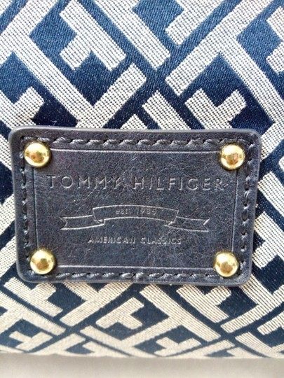 Tommy Hilfiger Tote in Blue, white Image 11