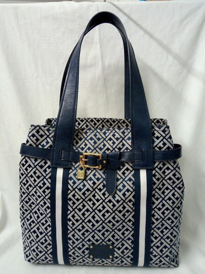 Tommy Hilfiger Tote in Blue, white Image 2