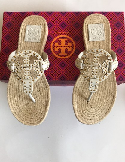 Tory Burch Ivory Sandals Image 3