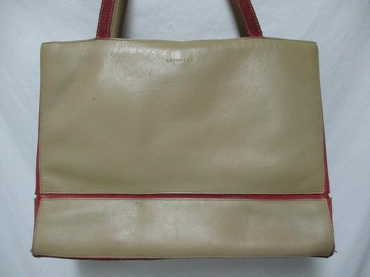 Lamar Lamarthe Leather Purse Shoulderbag Tote in taupe Image 4