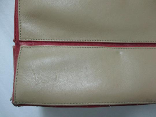Lamar Lamarthe Leather Purse Shoulderbag Tote in taupe Image 8