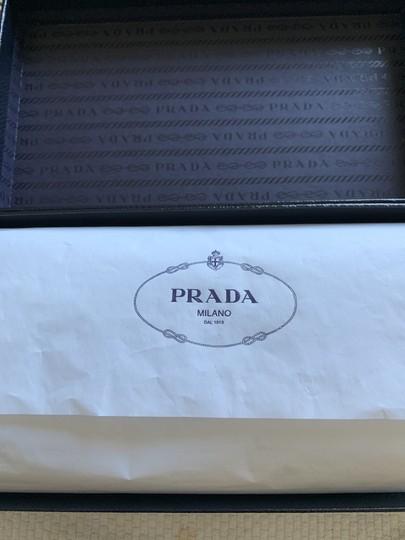 Prada Prada Marble Saffiano Leather Flap Wallet With Bow Image 6