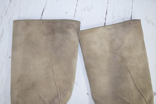 Fragiacomo Suede Leather Vintage Made In Italy Tan Boots Image 11
