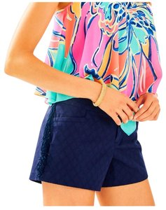 Lilly Pulitzer Ellie Fringe Mini/Short Shorts