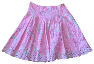 Lilly Pulitzer Floral 10 Skirt