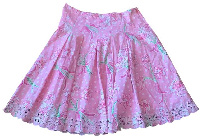 Preload https://img-static.tradesy.com/item/25830162/lilly-pulitzer-floral-pink-cutout-sz10-skirt-size-10-m-31-0-1-650-650.jpg