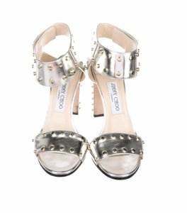Jimmy Choo Silver studded Sandals