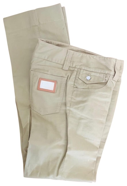 Preload https://img-static.tradesy.com/item/25830213/dolce-and-gabbana-olive-military-green-dolce-and-gabbana-trouserwide-leg-jeans-size-6-s-28-0-1-650-650.jpg