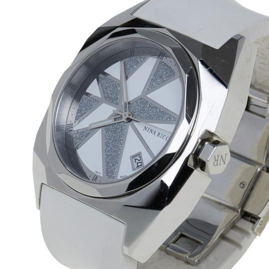 Nina Ricci White & Silver Stainless Steel Star Women's Wristwatch 40MM Image 1