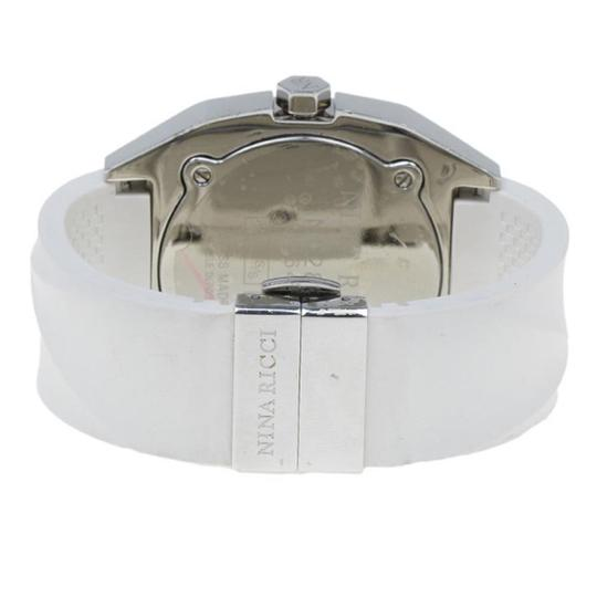 Nina Ricci White & Silver Stainless Steel Star Women's Wristwatch 40MM Image 3