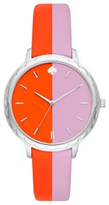 Kate Spade Kate Spade Morningside Scallop Bicolor Leather Watch