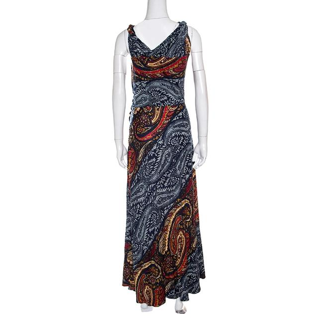 Marc by Marc Jacobs Paisley Sleeveless Maxi Viscose Dress Image 1