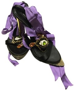 Dsquared2 Black/gold/purple. Formal