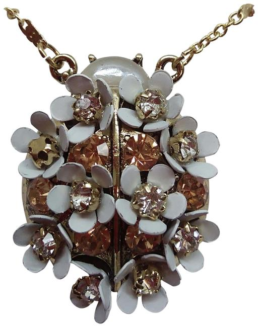Item - White New Flower Necklace