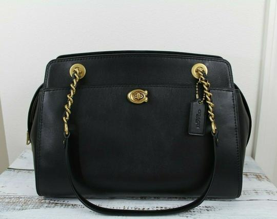 Coach Tote in BLACK Image 4