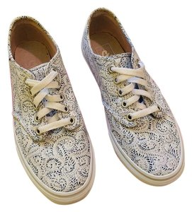Vans white with paisley pattern Athletic